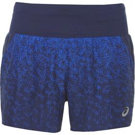 "asics 3,5"" Shorts Print Dames, hex fade indigo"